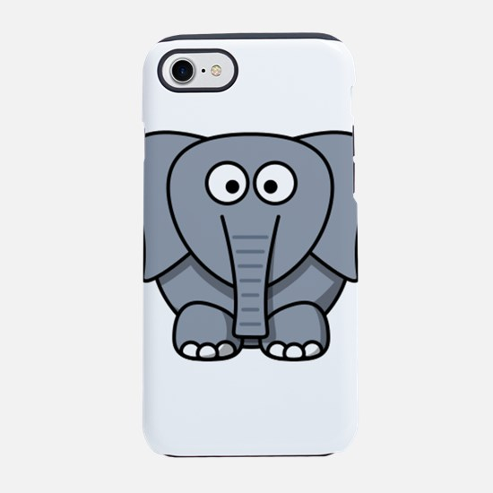 Funny Elephant iPhone 7 Tough Case