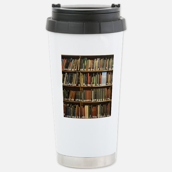 Bookshelves Stainless Steel Travel Mug