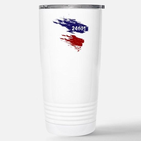Who Am I? 24601 Stainless Steel Travel Mug