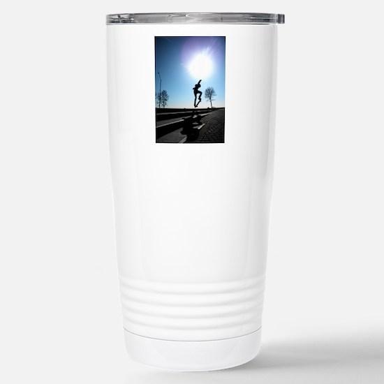 Against the Sky Stainless Steel Travel Mug