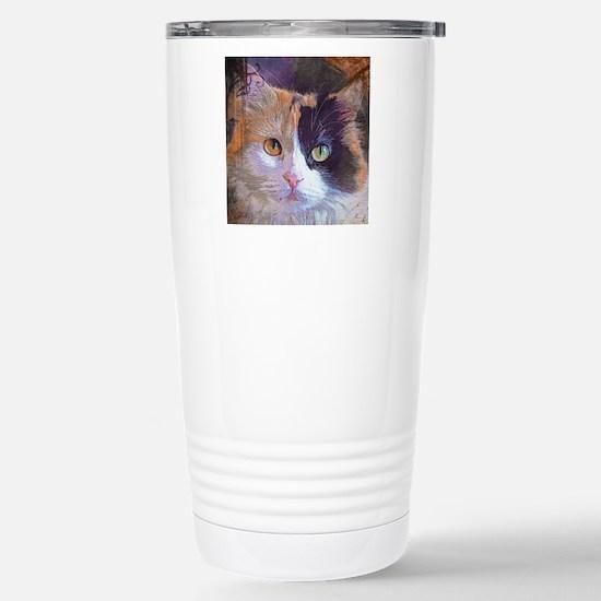 Calico Cat Stainless Steel Travel Mug
