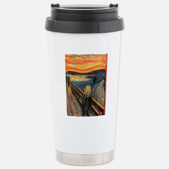 The Scream - Der Schrei Stainless Steel Travel Mug