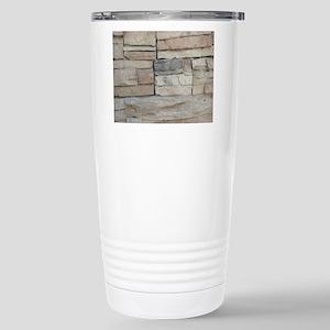 stone rock veneer Stainless Steel Travel Mug