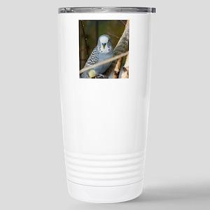 Budgie Stainless Steel Travel Mug