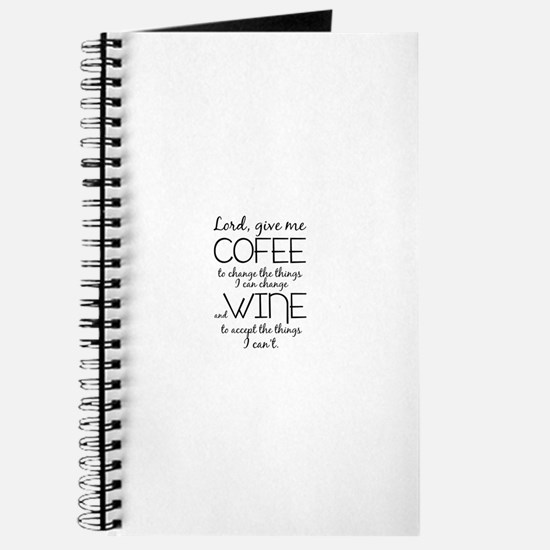 Lord, give me coffee Journal
