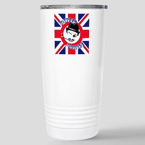 """Film Cad's Union Jack """" Stainless Steel Travel Mug"""