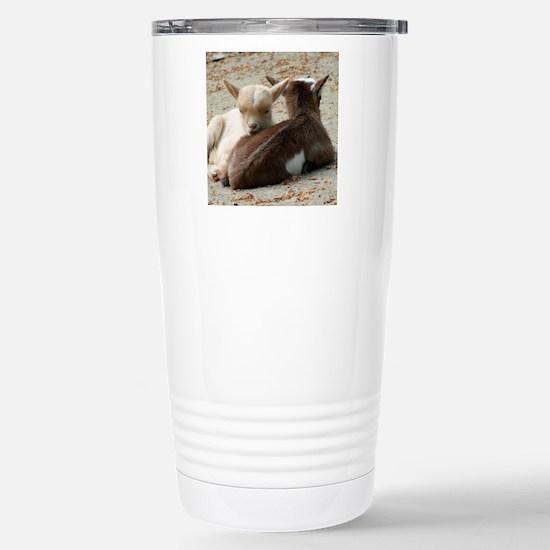 Goat 001 Stainless Steel Travel Mug