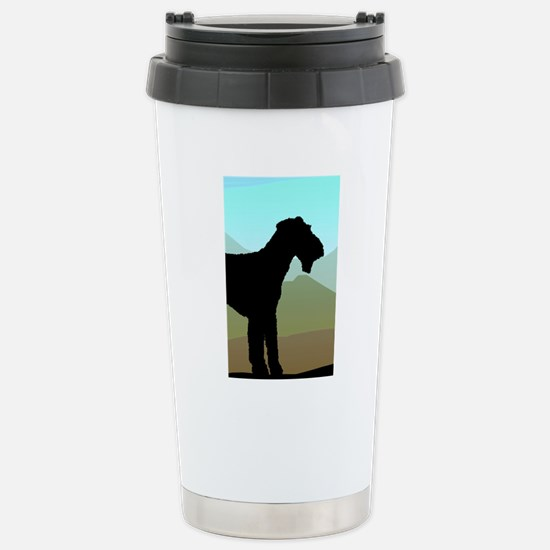 Craftsman Airedale Stainless Steel Travel Mug