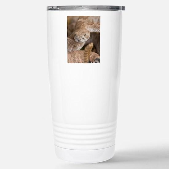 Rattlesnake Stainless Steel Travel Mug