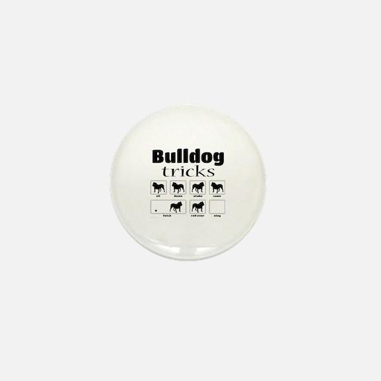 Bulldog Tricks Mini Button