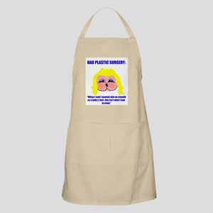 Bad Plastic Surgery BBQ Apron