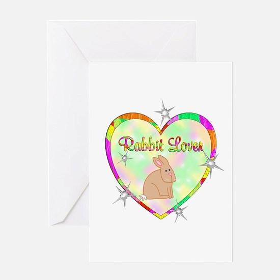 Rabbit Lover Greeting Card
