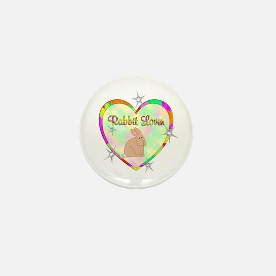 Rabbit Lover Mini Button