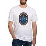 USS NATHANAEL GREENE Fitted T-Shirt
