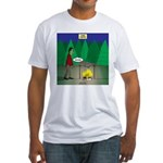 Zombie Campfire Fitted T-Shirt
