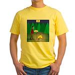 Zombie Campfire Yellow T-Shirt