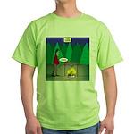 Zombie Campfire Green T-Shirt
