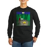 Zombie Campfire Long Sleeve Dark T-Shirt