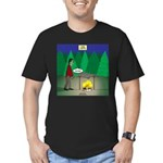 Zombie Campfire Men's Fitted T-Shirt (dark)