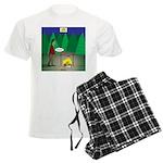 Zombie Campfire Men's Light Pajamas