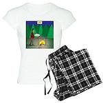 Zombie Campfire Women's Light Pajamas