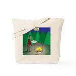 Zombie Campfire Tote Bag