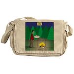Zombie Campfire Messenger Bag