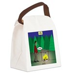 Zombie Campfire Canvas Lunch Bag