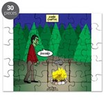 Zombie Campfire Puzzle
