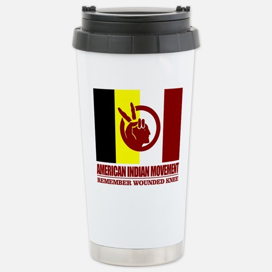 American Indian Movement Stainless Steel Travel Mu