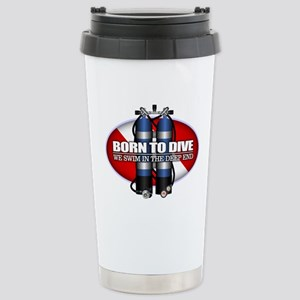 Born To Dive (ST) Stainless Steel Travel Mug