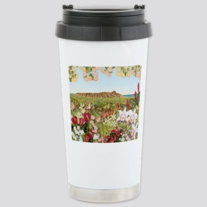 Diamond Head Stainless Steel Travel Mug