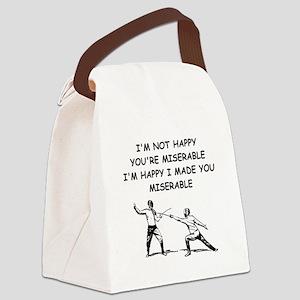 fencer Canvas Lunch Bag