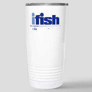 ifish (rod) Stainless Steel Travel Mug