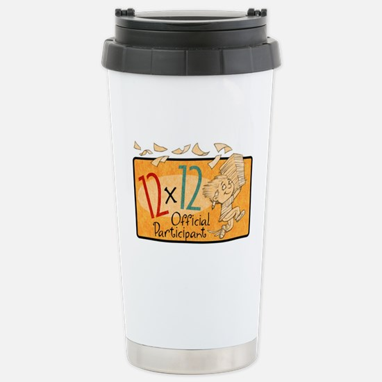 12 x 12 Participant Stainless Steel Travel Mug