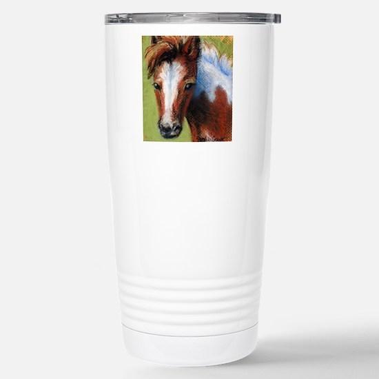 Chincoteague Pony Foal Stainless Steel Travel Mug