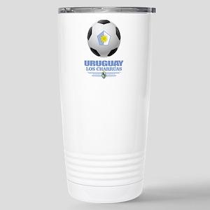 Uruguay Football Stainless Steel Travel Mug