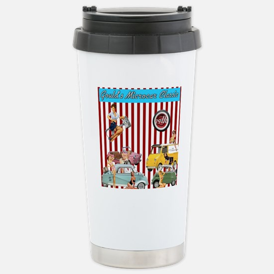 Gould's 19th Microcar C Stainless Steel Travel Mug