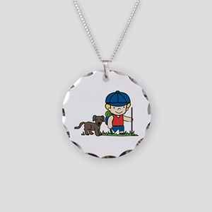 Hiker Dog Necklace