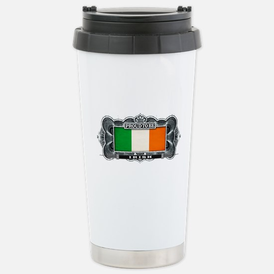 Proud To Be Irish Stainless Steel Travel Mug