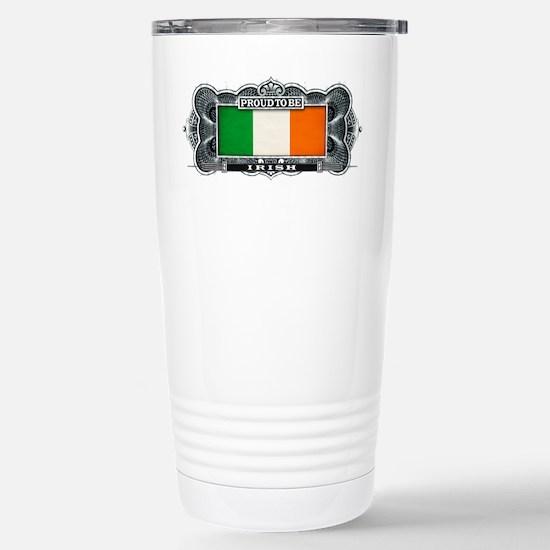 Proud To Be Irish Stainless Steel Travel Mug