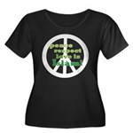 Peace, Love, Respect is Islam Women's Plus Size Sc