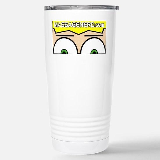 MassageNerd Stainless Steel Travel Mug