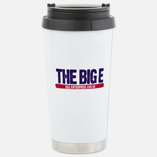 The Big E Stainless Steel Travel Mug