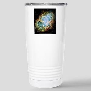 Crab Nebula Stainless Steel Travel Mug