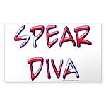 Spear Diva Sticker