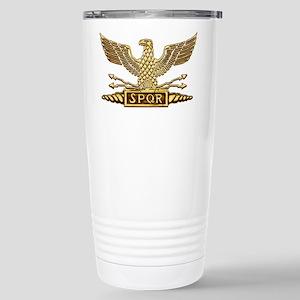 Legion Eagle Gold Stainless Steel Travel Mug