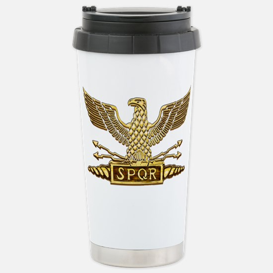 Legion Eagle Gold.png Stainless Steel Travel Mug