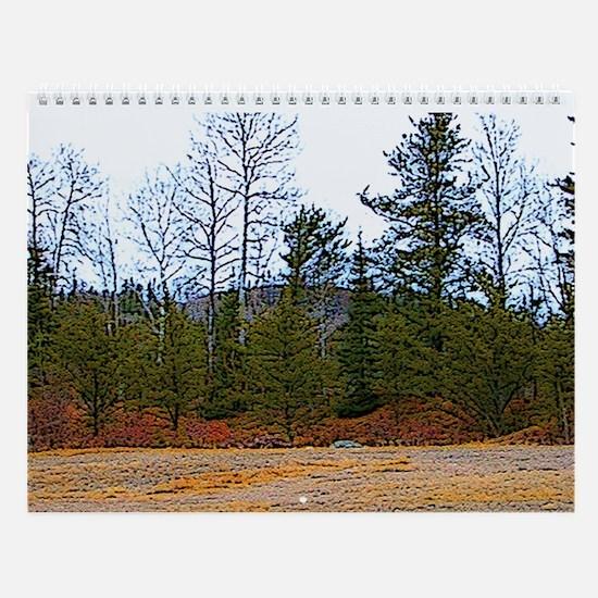 Funny Thunder Wall Calendar