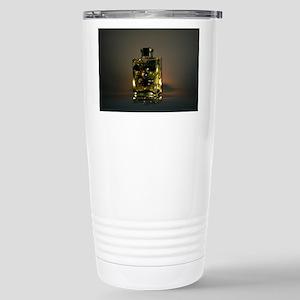 Lit Glass beads Stainless Steel Travel Mug